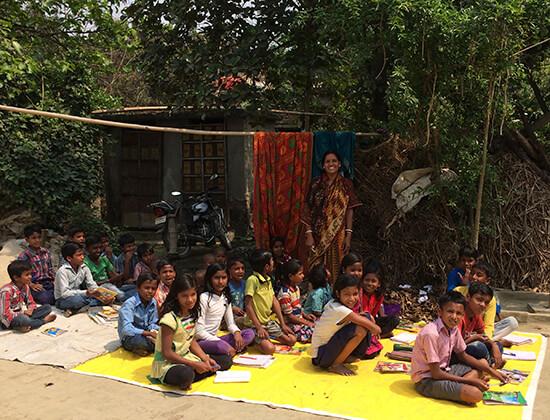 2015 A FreeSchool near Bettiah in Bihar