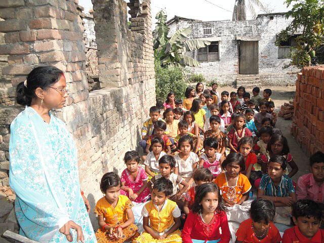A typical Bihar FreeSchool
