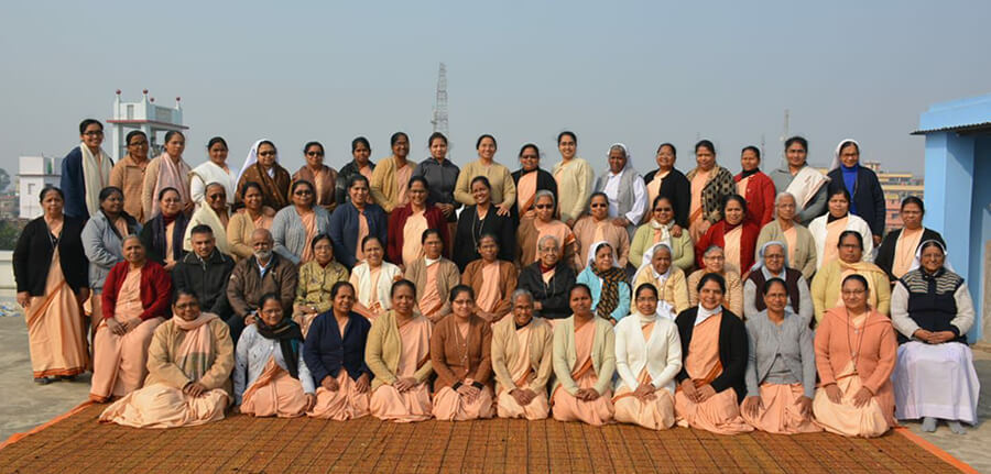 Delegates of 10th General Chapter of Sisters of Sacred Heart.