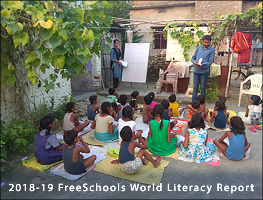 2019 FreeSchools World Literacy Report